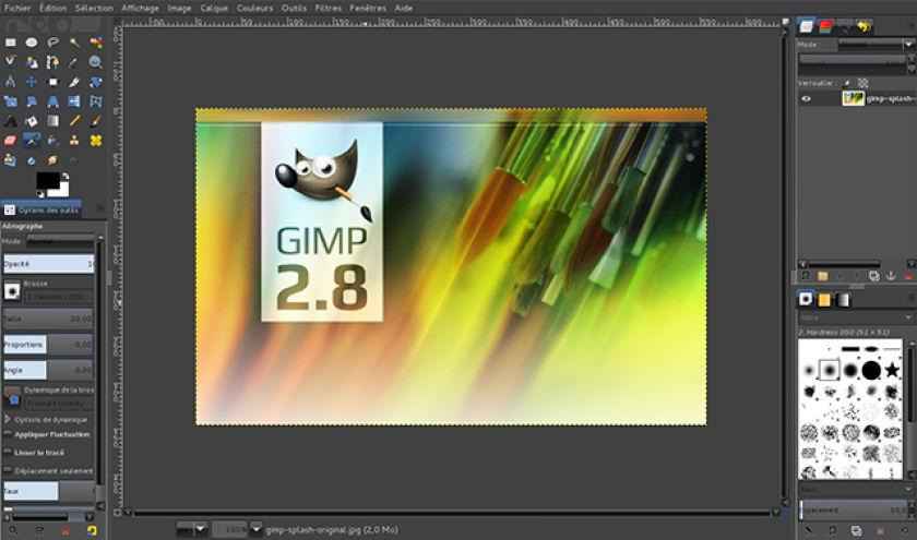 Le plus connu: GIMP